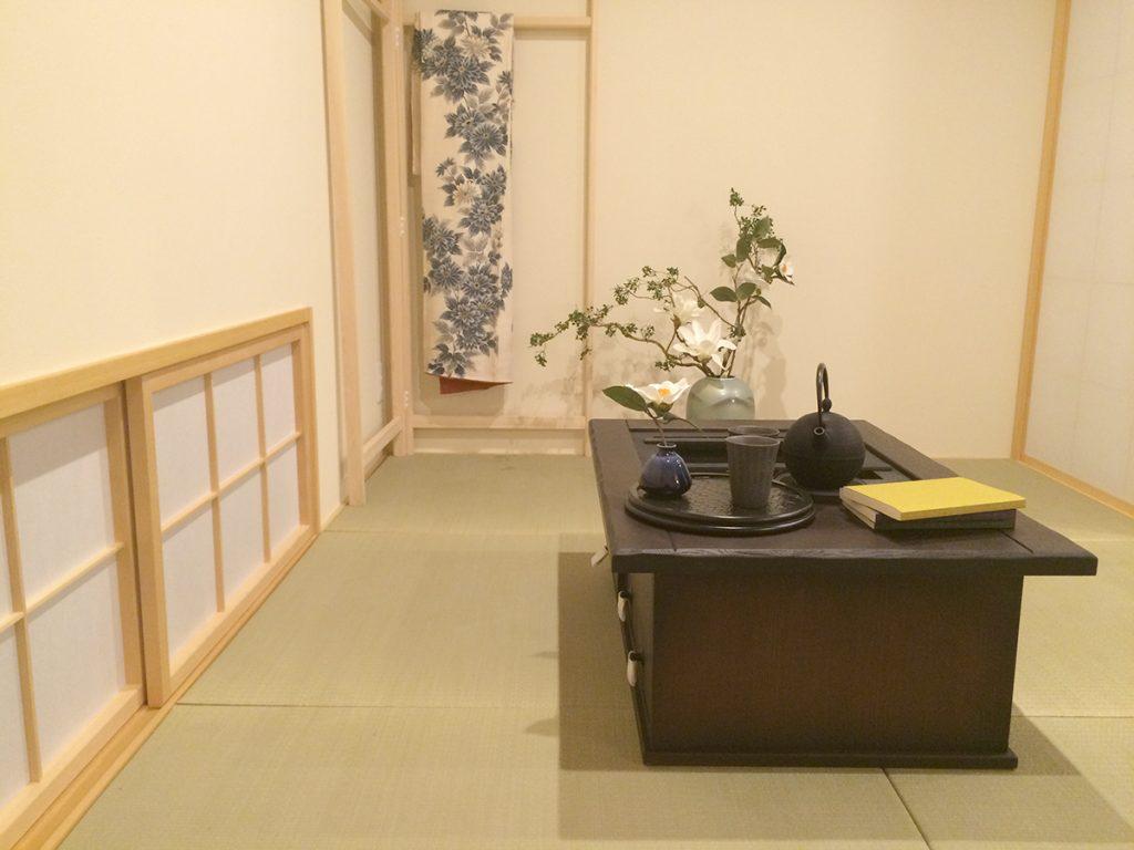 日本の粋を愉しむ世田谷の家 居室