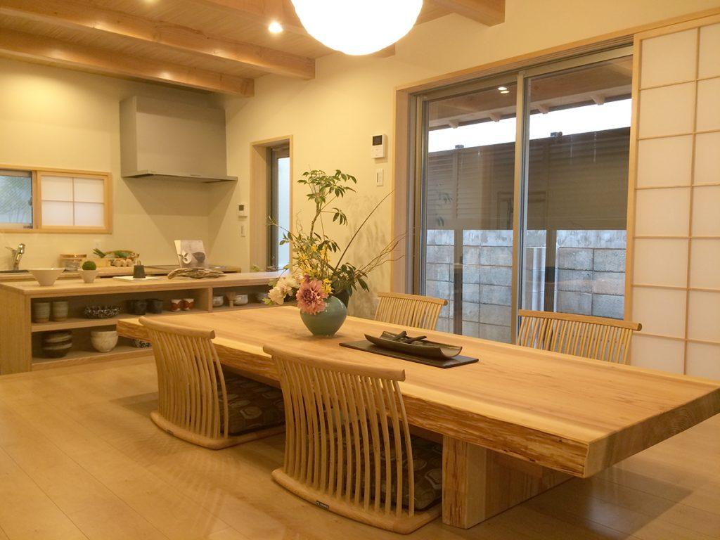 日本の粋を愉しむ世田谷の家 リビング