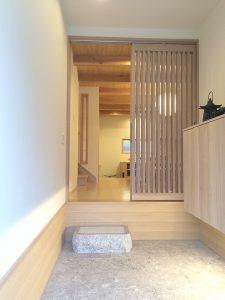 日本の粋を愉しむ世田谷の家 玄関