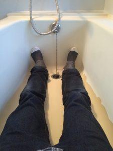 アッパルタメントプラート 浴槽