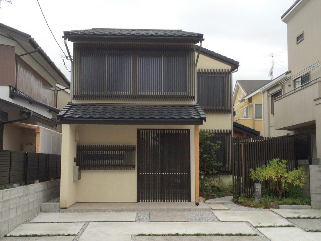 日本の粋を愉しむ世田谷の家 外観